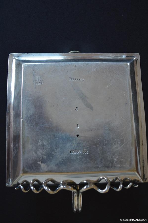 GETHEN. MECHERO Y CORTAPUROS DE PLATA 8X12X12-PESO 580 GRMOS (2)-003